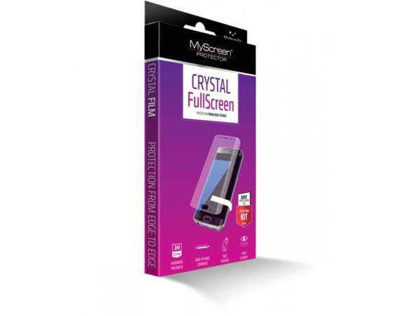MyScreen Protector  CRYSTAL FullScreen Folia do Samsung G930 S7