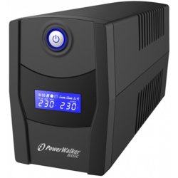 PowerWalker UPS Line-Interactive 600VA STL FR 2x PL 230V, USB, RJ11/45      In/Out