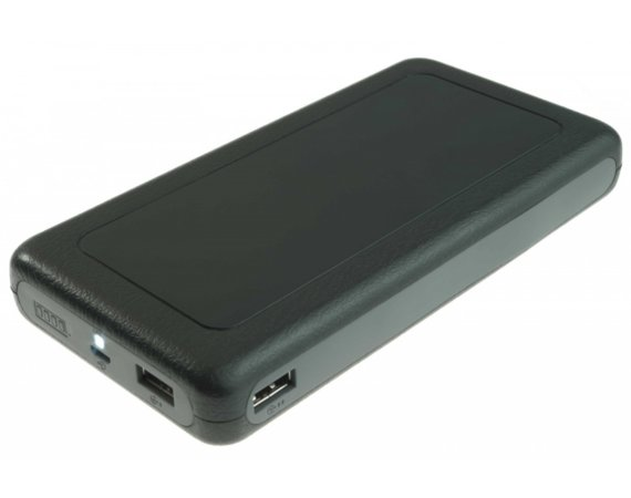 SUNEN PowerNeed - Powerbank 20000mAh,  USB 5V, 1A i 5V, 2.1A, LED, czarny