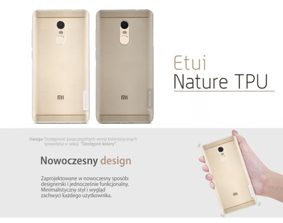 Nillkin Etui Nature Xiaomi Redmi Note 4X Crystal