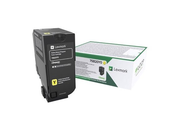 Lexmark Toner CS/CX727,CS728 YELLOW 10K 75B20Y0