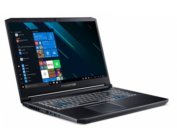 Acer Notebook Helios 300 NH.Q5PEP.010 WIN10Home i7-9750H/4GB+4GB/512GBSSD/1000GB HDD/GTX1660Ti 6GB/17.3 FHD