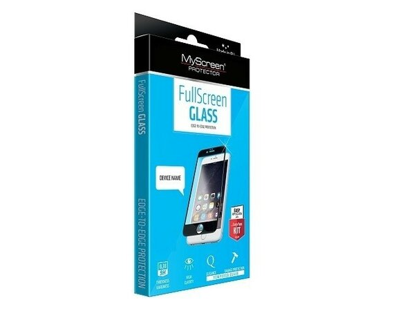 MyScreen Protector  DIAMOND Edge 3D Szkło do SAMSUNG S7 Czarny