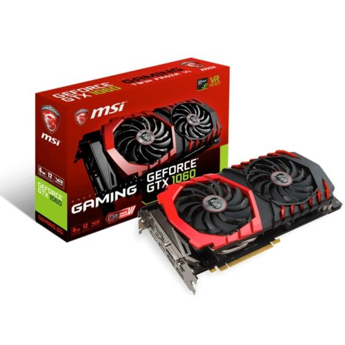 MSI Karta graficzna GeForce GTX 1060 6GB 192BIT DVI/HDMI/3DP