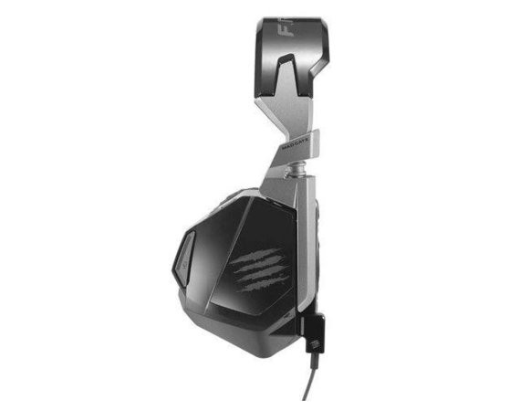 Mad Catz Słuchawki z mikrofonem F.R.E.Q. 4D PC/MAC/WII Gaming Matt Black