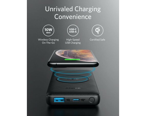 Anker Powerbank PowerCore III Wireless 10K