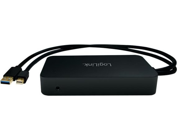 LogiLink Adapter miniDP do HDMI/ DP/LAN/USB3.0