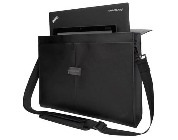 "Lenovo Torba do laptopów ThinkPad 14.1"" Executive Leather Case 4X40E77322"
