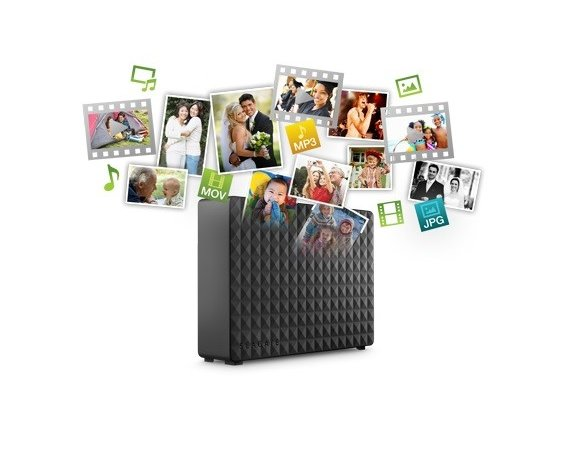 Seagate Dysk Expansion 8TB 3,5 STEB9000402 Black