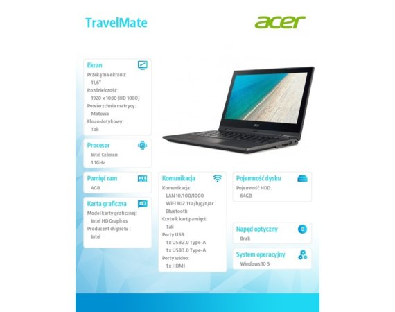 Acer TravelMate 118-RN NX.VG0EP.005
