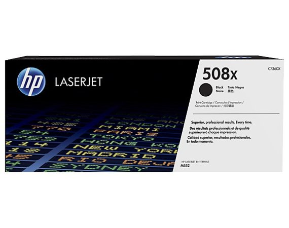 HP Inc. Toner 508X High Yield Black 12,5k CF360X