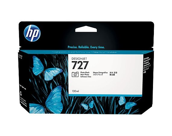HP Inc. Tusz HP 727 130 ml Photo Black B3P23A