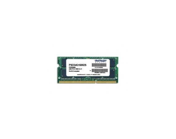 Patriot SODIMM DDR3 4GB Signature 1600MHz CL11