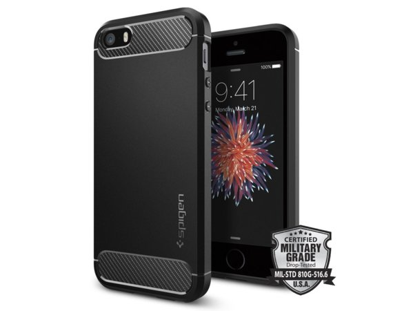 SPIGEN SGP  Rugged Armor Etui iPhone 5/5s/SE