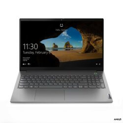 Lenovo Laptop ThinkBook 15 G2 20VG006VPB W10Home 4500U/8GB/512GB/INT/15.6FHD/Mineral Grey/1YR CI