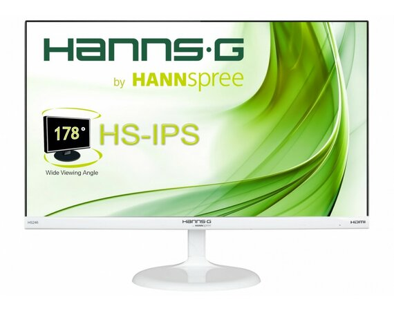 HANNSPREE 23.6'' HS246HFW IPS,HDMI,Speakers