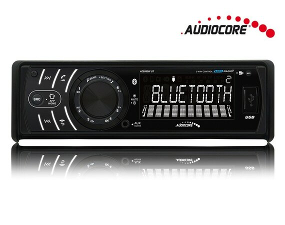 Audiocore Radioodtwarzacz AC9800W BT Android Iphone