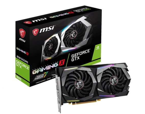 MSI Karta graficzna GeForce GTX 1660 GAMING X 6G 192BIT GDDR5 HDMI/3DP