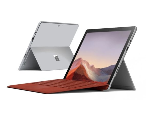 Microsoft Surface Pro 7 Platinium 128GB/i5-1035G4/8GB/12.3 Commercial PVQ-00003