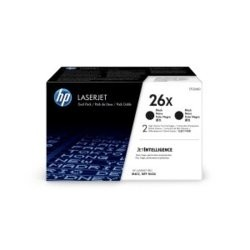HP Inc. Toner  26X Black 9k Dual Pack CF226XD