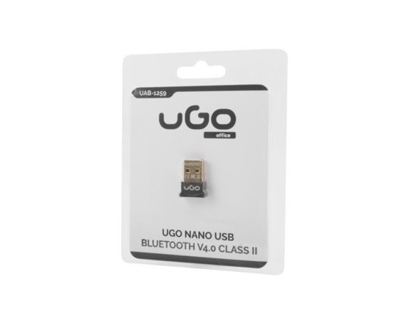UGo Adapter Bluetooth USB Nano v4.0 class II