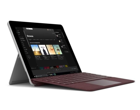 Microsoft Surface GO 4415Y/4GB/64GB/HD615/10' Commercial Silver JST-00003