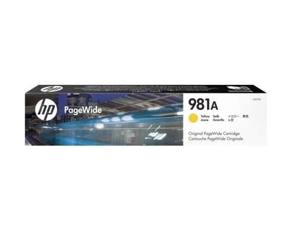 HP Inc. 981A Yellow J3M70A