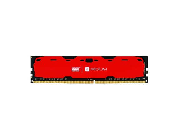 GOODRAM DDR4 IRIDIUM 8GB/2400 15-15-15 1024*8 Czerwona