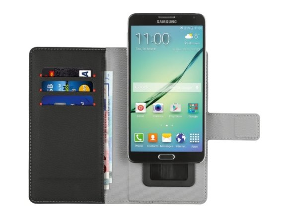 Trust UrbanRevolt Verso Universal Wallet Case for smartphones up to 4.7""