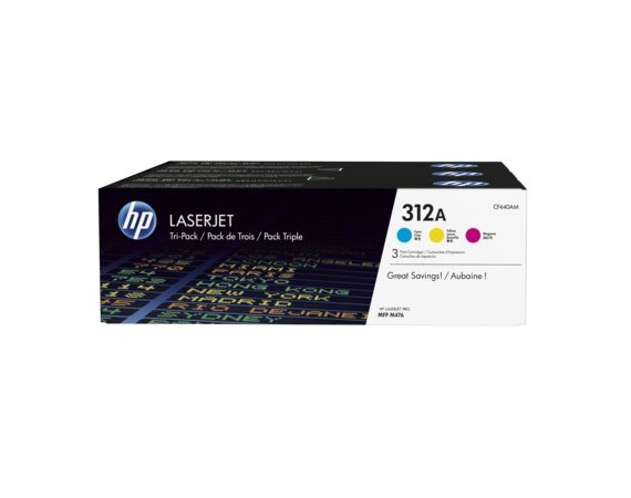 HP Inc. Toner 312A CMY 3-pack CF440AM