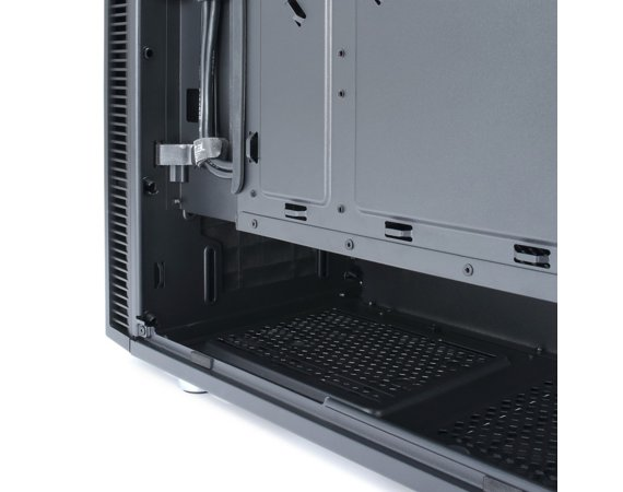 Fractal Design Define Mini C TG 3. 5'HDD/2.5'SDD uATX/ITX Tempered Glass   side panel