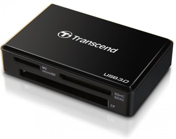 Transcend USB3.0 ALL-in Multi Card Reader TS-RDF8K