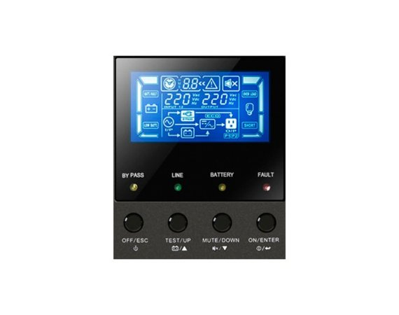 PowerWalker UPS  ON-LINE 3/3 FAZY 10KVA, TERMINAL OUT, USB/ RS-232, EPO, LCD, TOWER