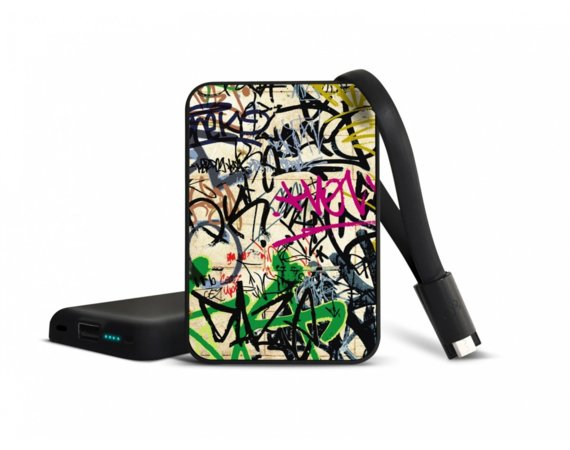 SMARTOOOLS Powerbank MC10 Grafiti, 10000mAh