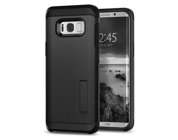 SPIGEN SGP  Tough Armor Black Etui Galaxy S8+