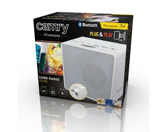 Camry Radio kompaktowe z bluetooth CR1165