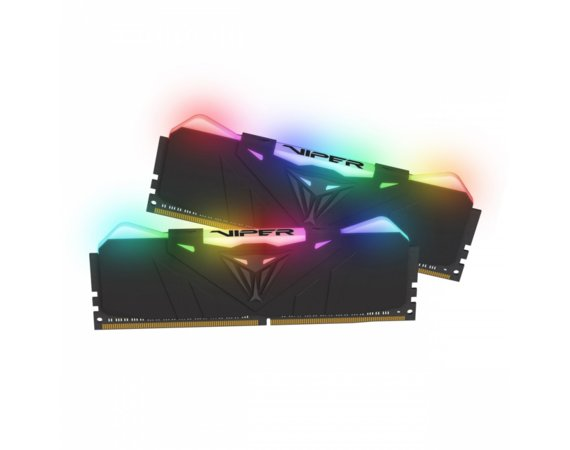 Patriot DDR4 VIPER RGB 16GB/2666(2*8GB) Black CL15