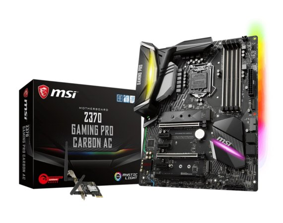 MSI Z370 GAMING PRO CARBON AC 4DDR4 USB3/M.2 ATX