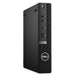 Dell Komputer Optiplex 7080 MFF/Core i5-10500T/8GB/256GB SSD/Integrated/WLAN + BT/Wireless Kb & Mouse/W10Pro