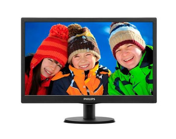Philips Monitor 19.5 203V5LSB26/10 LED Czarny