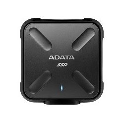 Adata SSD External SD700 512G USB3.1 Durable Czarny