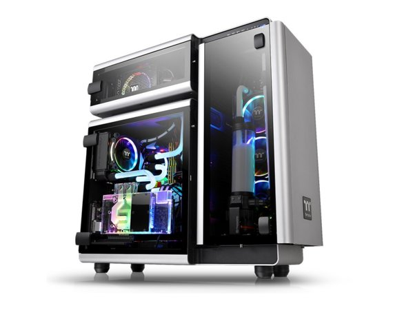 Thermaltake Obudowa LEVEL 20 RGB Riing Plus E-ATX Full Tower T.Glass - szara