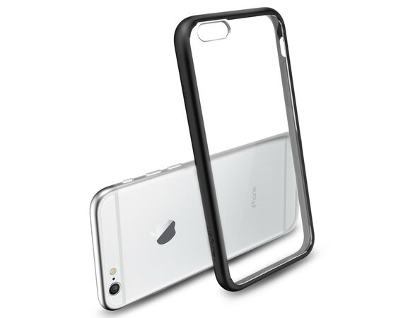 SPIGEN SGP  Etui Ultra Hybrid Smooth Black iPhone 6