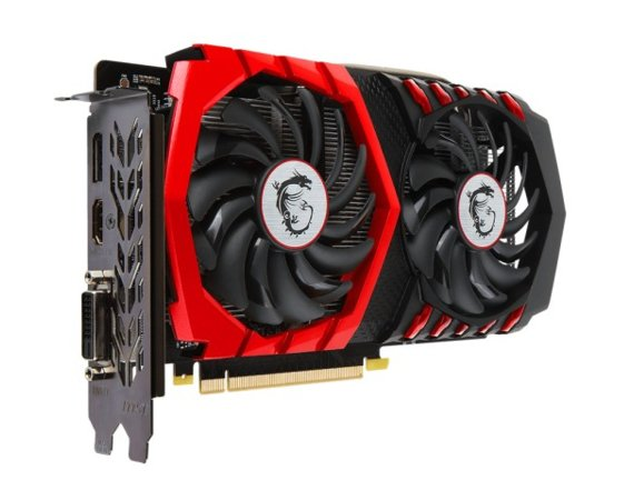 MSI GeForce GTX 1050 Gaming X 2GB DDR5 128BIT DVI/HDMI