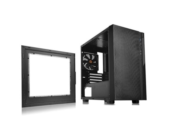 Thermaltake Versa H18 microATX USB3.0 Window - Black