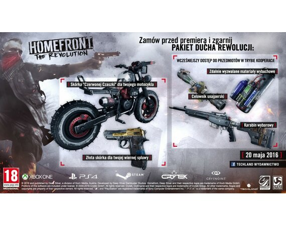 Techland Homefront: The Revolution PS4 PL