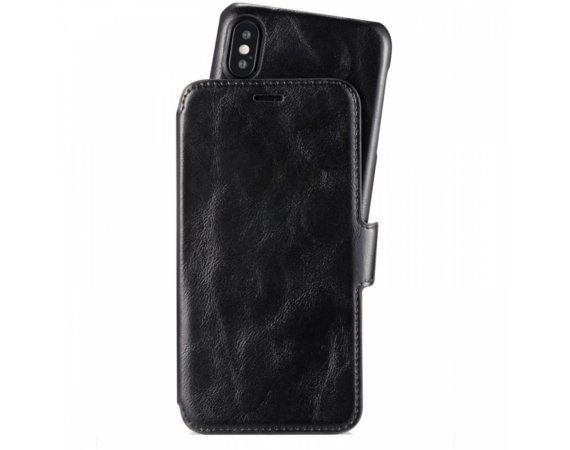 Holdit Style Berlin Slim Flip walletcase iPhone X czarny