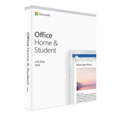 Microsoft Office Home & Student 2019 PL P6 Box Win/Mac 32/64bit 79G-05160 Zastępuje P/N: 79G-05037