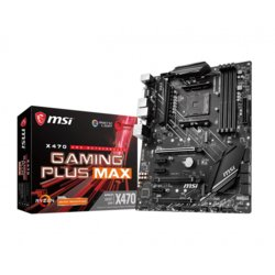 MSI Płyta główna X470 GAMING PLUS MAX AM4 4DDR4 HDMI/DVI ATX