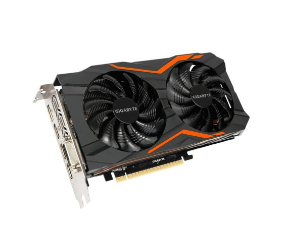 Gigabyte Karta graficzna GeForce GTX 1050 G1 GAMING 4GB GDDR5 128BIT DVI/HDMI